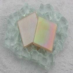"- Nebula 2 x 2 cm - Pink-Pearl-""S"""