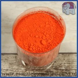 Pigment - per 20 gram - Ercolano Orange - Kleurstof voor de mozaiek hobby