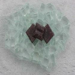 """- Vitreous 1 x 1 cm - Mini Ultra-Violet-""""S"""""""