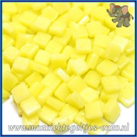Glasmozaiek Pixel steentjes - Ottoman Matte - 0,8 x 0,8 cm - Enkele Kleuren - per 50 gram - Daffodil Yellow
