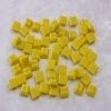 "- Vitreous 1 x 1 cm - Mini Bright-Yellow-""S"""