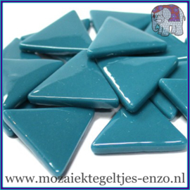 Glasmozaiek steentjes - Art Angles Gewoon - 29 mm - Enkele Kleuren - per 1 kilo - Dark Teal