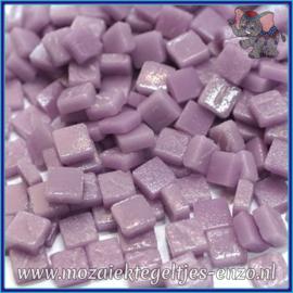 Glasmozaiek Pixel steentjes - Ottoman Matte - 0,8 x 0,8 cm - Enkele Kleuren - per 50 gram - Lilac