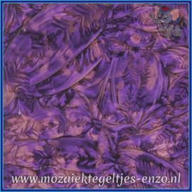 Plaatglas - Van Gogh Glass Normaal - 5 x 10 cm - Gemixte Kleuren - per 1 stuk - Purple Violet