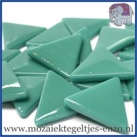 Glasmozaiek steentjes - Art Angles Gewoon - 29 mm - Enkele Kleuren - per 1 kilo - Teal