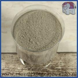 Voegmiddel - Mapei Ultracolor Plus - Binnen en buiten voegsel voor de mozaiek hobby - per 250 gram - Cement Grijs/Cement Grey No. 113