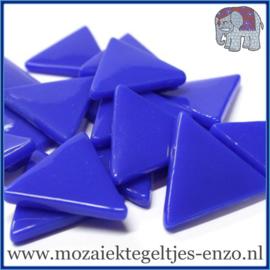 Glasmozaiek steentjes - Art Angles Gewoon - 29 mm - Enkele Kleuren - per 1 kilo - Brilliant Blue