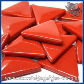 Glasmozaiek steentjes - Art Angles Normaal - 29 mm - Enkele Kleuren - per 1 stuk - Blood Red