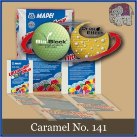 Voegmiddel - Mapei Ultracolor Plus - Binnen en buiten voegsel voor de mozaiek hobby - per 250 gram - Caramel No. 141