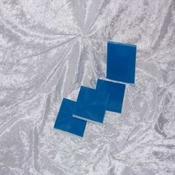Sample - Binnen wandtegel Royal Mosa - Glanzend - 3,75 x 3,75 cm - per 1 stuk - Brilliant Blue 18910