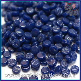 Glasmozaiek Pixel steentjes - Darling Dotz Normaal - 0,8 cm - Enkele Kleuren - per 50 gram - Royal Blue