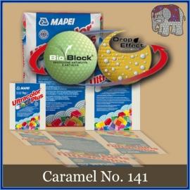 Voegmiddel - Mapei Ultracolor Plus - Binnen en buiten voegsel voor de mozaiek hobby - per 500 gram - Caramel No. 141