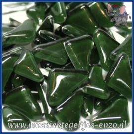 Glasmozaiek steentjes - Soft Glass Puzzles Normaal - Enkele Kleuren - per 50 gram - Evergreen