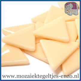 Glasmozaiek steentjes - Art Angles Gewoon - 29 mm - Enkele Kleuren - per 1 kilo - Soft Blush