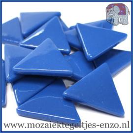 Glasmozaiek steentjes - Art Angles Gewoon - 29 mm - Enkele Kleuren - per 1 kilo - Dark Lake Blue
