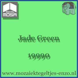 Binnen wandtegel Royal Mosa - Glanzend - 7,5 x 7,5 cm - Op maat gesneden - Jade Green 19990