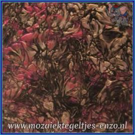 Plaatglas - Van Gogh Glass Normaal - 5 x 10 cm - Gemixte Kleuren - per 1 stuk - Red Champagne