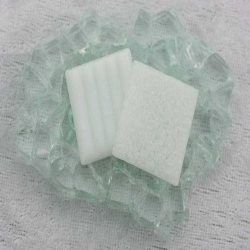 "Glasmozaïek Basic Line 2 x 2 cm  - Iced White ""Sample"""