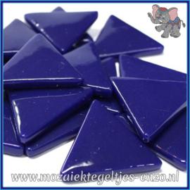 Glasmozaiek steentjes - Art Angles Normaal - 29 mm - Enkele Kleuren - per 1 stuk - Royal Blue