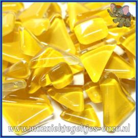 Glasmozaiek steentjes - Soft Glass Puzzles Normaal - Enkele Kleuren - per 50 gram - Corn Syrup