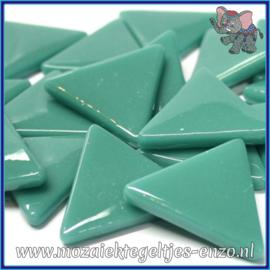 Glasmozaiek steentjes - Art Angles Normaal - 29 mm - Enkele Kleuren - per 1 stuk - Teal