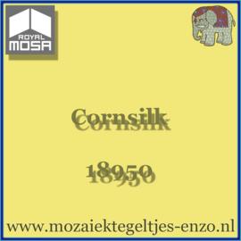 Binnen wandtegel Royal Mosa - Glanzend - 15 x 15 cm - per 1 stuk - Corn Silk 18950