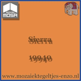 Binnen wandtegel Royal Mosa - Glanzend - 7,5 x 7,5 cm - Op maat gesneden - Sierra 19940