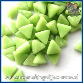 Glasmozaiek steentjes - Art Angles Normaal - 10 mm - Enkele Kleuren - per 50 gram - Mint Green