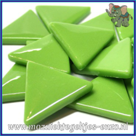 Glasmozaiek steentjes - Art Angles Normaal - 29 mm - Enkele Kleuren - per 1 stuk - New Green