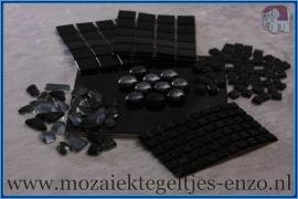 Mozaiek Kleur Pakket  Basic Line - Zwart