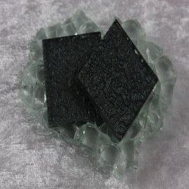 """Glasmozaïek Pearl Sparkle 2,5 x 2,5 cm - Anthracite -""""S"""""""