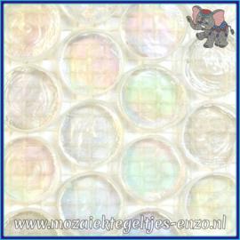 Glasmozaiek steentjes - Radiant Round Parelmoer - 18 mm - Enkele Kleuren - per 1 stuk - Scandinavia