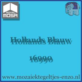 Binnen wandtegel Royal Mosa - Glanzend - 15 x 15 cm - per 44 stuks (1m2)  - Op bestelling - Hollands Blauw 16990