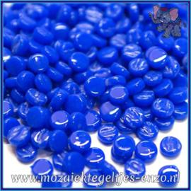 Glasmozaiek Pixel steentjes - Darling Dotz Normaal - 0,8 cm - Enkele Kleuren - per 50 gram - Brilliant Blue