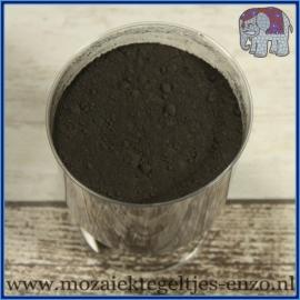 Voegmiddel - Mapei Ultracolor Plus - Binnen en buiten voegsel voor de mozaiek hobby - per 500 gram - Zwart/Black No. 120