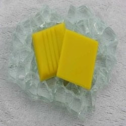 "Glasmozaïek Basic Line 2 x 2 cm - Bright Yellow ""Sample"""