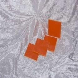 Sample - Binnen wandtegel Royal Mosa - Glanzend - 3,75 x 3,75 cm - per 1 stuk - True Orange 16980