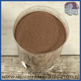 Voegmiddel - Mapei Ultracolor Plus - Binnen en buiten voegsel voor de mozaiek hobby - per 250 gram - Chocolade Bruin/Brown No. 144
