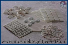 Mozaiek Kleur Pakket  Gold Line - Wit