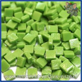 Glasmozaiek Pixel steentjes - Ottoman Matte - 0,8 x 0,8 cm - Enkele Kleuren - per 50 gram - New Green
