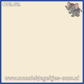 Buiten tegel Cesi - Mat Glanzend - 20 x 20 cm - per 1 stuk  - Op bestelling - Vanilla