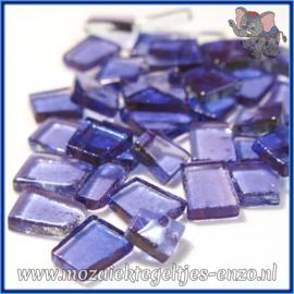 Glasmozaiek steentjes - Transparant Glass Puzzles Normaal - Enkele Kleuren - per 50 gram - Ambient Lavender