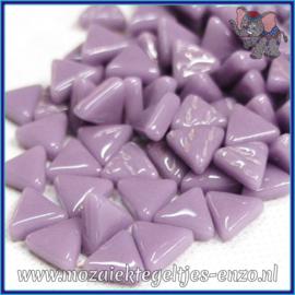 Glasmozaiek steentjes - Art Angles Normaal - 10 mm - Enkele Kleuren - per 50 gram - Lilac