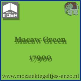 Binnen wandtegel Royal Mosa - Glanzend - 15 x 15 cm - per 1 stuk - Macaw Green 17900