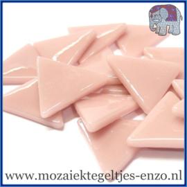 Glasmozaiek steentjes - Art Angles Gewoon - 29 mm - Enkele Kleuren - per 1 kilo - Rose Petal