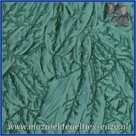 Plaatglas - Van Gogh Glass Normaal - 5 x 10 cm - Enkele Kleuren - per 1 stuk - Bluegreen