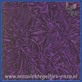 Plaatglas - Van Gogh Glass Normaal - 5 x 10 cm - Enkele Kleuren - per 1 stuk - Violet