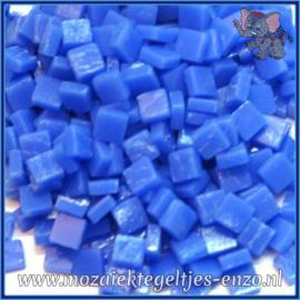 Glasmozaiek Pixel steentjes - Ottoman Matte - 0,8 x 0,8 cm - Enkele Kleuren - per 50 gram - True Blue