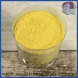 Voegmiddel - Mapei Ultracolor Plus - Binnen en buiten voegsel voor de mozaiek hobby - per 500 gram - Geel/Yellow No. 150