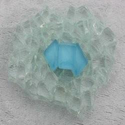 """- Murini 1 x 1 cm - Mini Turquoise-""""S"""""""